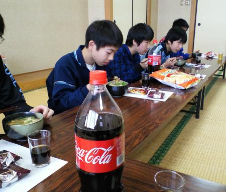 昼食会(27.1.11)