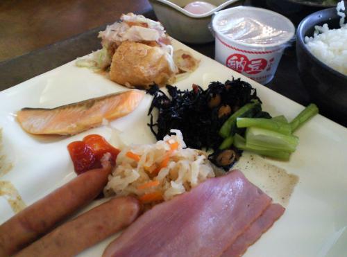 朝食バイキング(27.1.30)