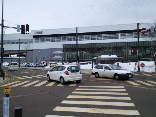 北陸新幹線飯山駅(27.2.23)