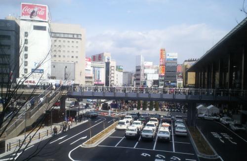 長野駅前広場(27.3.14)