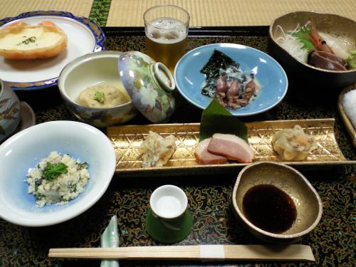 新湯田中「有竹」で懇親会(27.3.30)