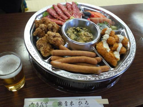 宇木区総会お料理(27.3.28)