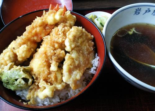 岩戸屋天丼(27.4.11)