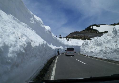 雪の回廊(27.4.24)