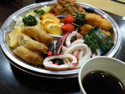懇親会お料理(27.5.21)