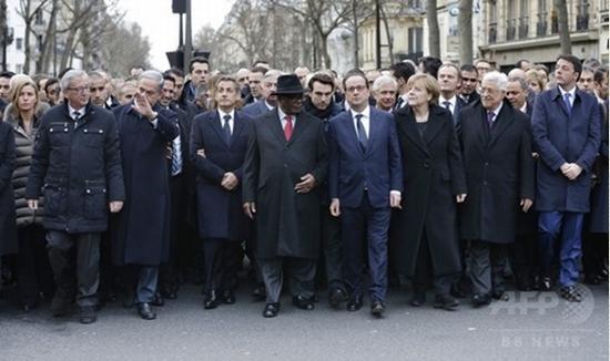 フランス似非行進の真相2