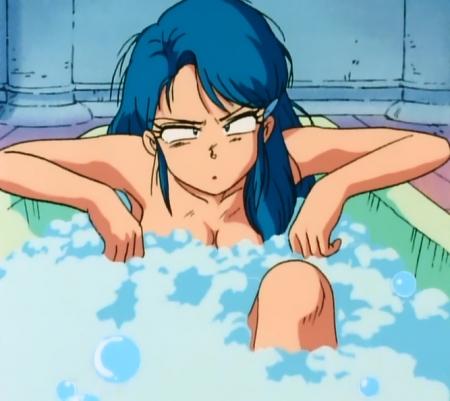 ゲンジ通信あげだま 九鬼麗の胸裸入浴シーン49