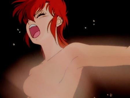 獣神ライガー 神代まいの胸裸124
