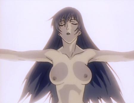 銀装騎攻オーディアン 哉生香織の胸裸乳首83