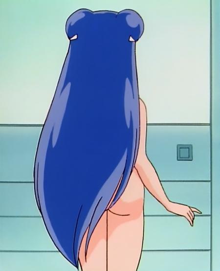 らんま1/2TV版 シャンプーの全裸入浴シーン112