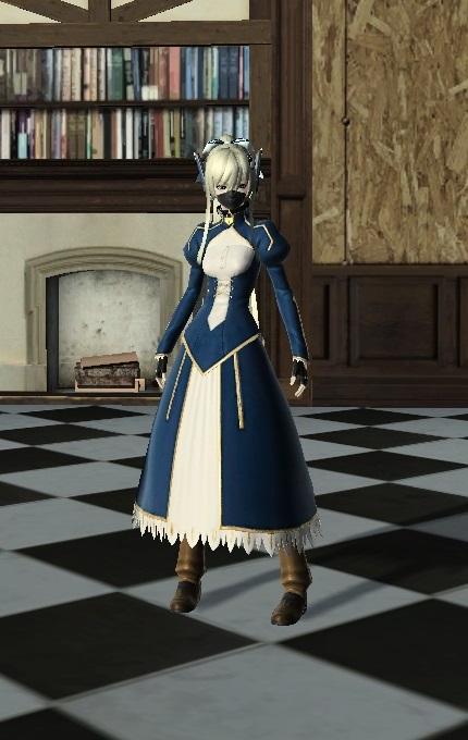 騎士王の礼服