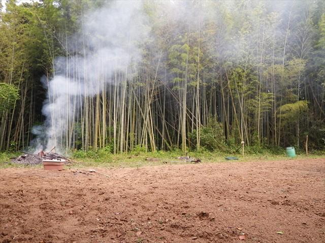 第二農園と竹林の手入れ