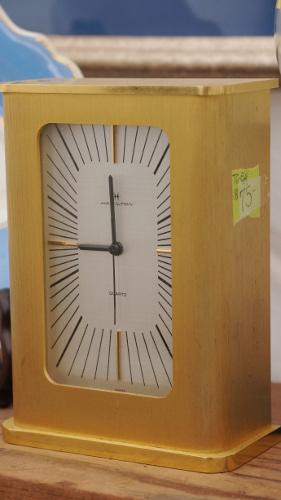 hamilton gold clock