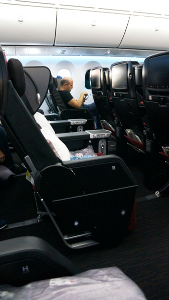 JAL PY seat 5