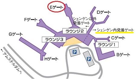 3 スキポール空港イメージ図