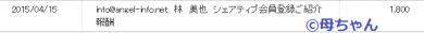 2015/4/15 成果発生!