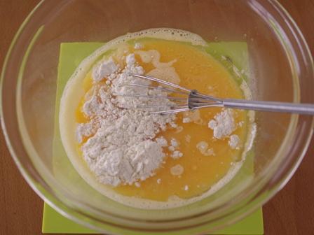 レモングラスとホットケーキミックスで作るカノムモーケン風ココナッツプリンケーキ04