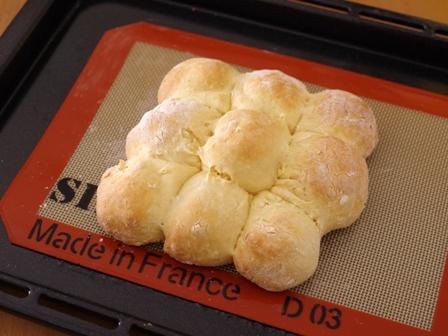ホットケーキミックスで簡単豆乳ちぎりパン02