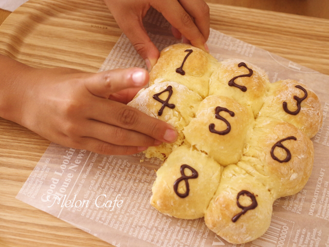 ホットケーキミックスで簡単豆乳ちぎりパン00