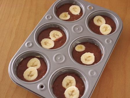 ホットケーキミックスでバナナとチョコたっぷりガトーショコラ02