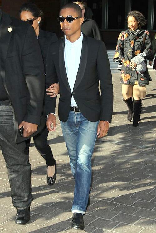ファレル・ウィリアムス(Pharrell Williams):シャネル(CHANEL)
