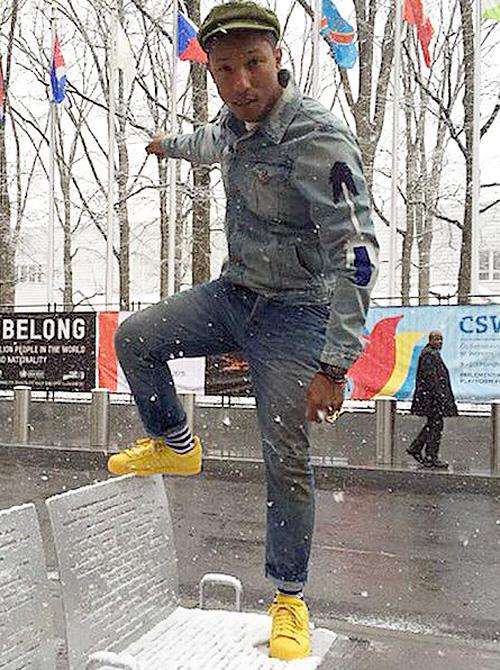 ファレル・ウィリアムス(Pharrell Williams):アディダス(adidas)