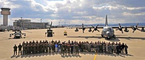仙台空港復旧プロジェクトに携わった自衛隊、米軍、空港関係者