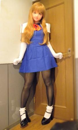 青ドレス05