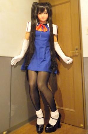 青ドレス11
