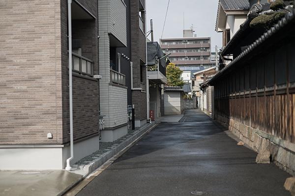 鶴見元住んでいた場所