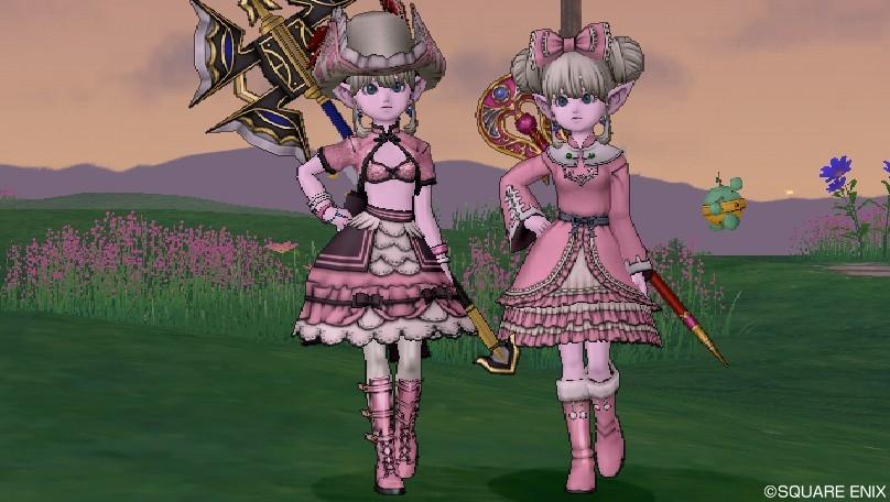 Wii版のピンク