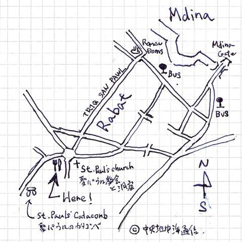 Map PARRUCCAN パルッチャン 地図