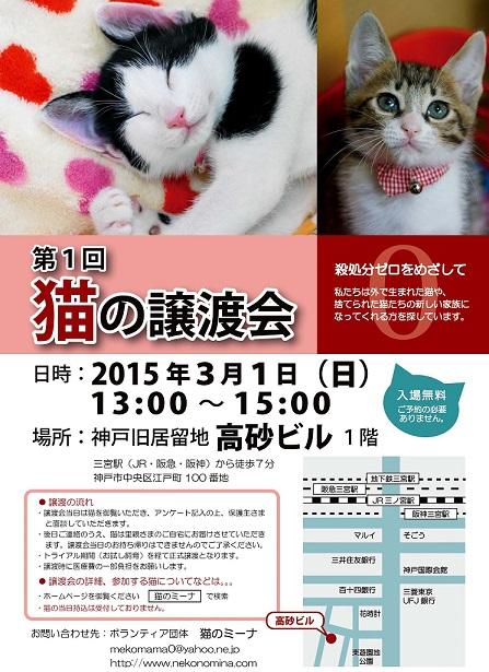 20150301第1回譲渡会チラシ_ブログサイズ