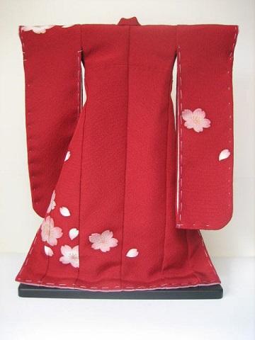 バービー 振袖 桜1