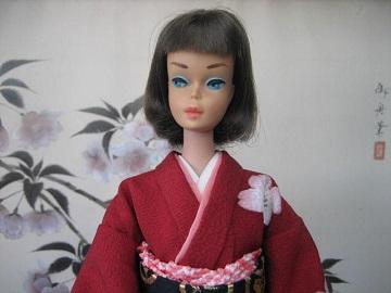 バービー 振袖 桜6