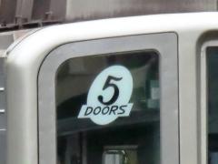 5Doorsステッカー