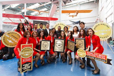 ANAは、ワールド・エアライン・アワードの2部門で世界一を受賞!!格安航空会社(LCC)部門はエアアジアが世界一に