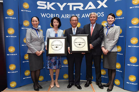 ANAは、ワールド・エアライン・アワードの2部門で世界一を受賞!!格安航空会社(LCC)部門はエアアジアが世界一に!
