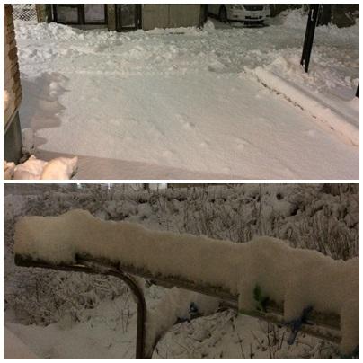初雪かき2015