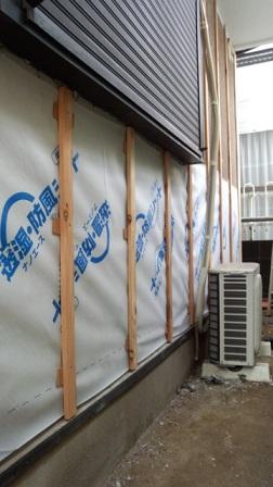 みらい住建 リフォーム 金属サイディング工事1 3号2日①縮小
