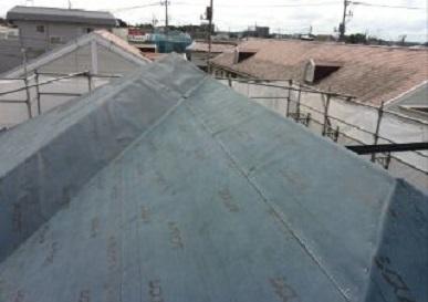 みらい住建 リフォーム 雨漏り対策 2号1日②拡大