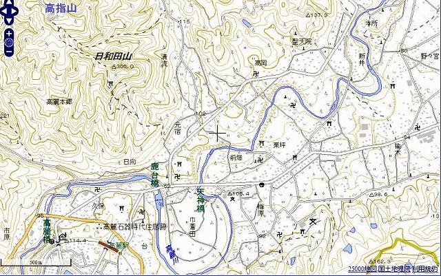 2013 01 31 巾着田 地図