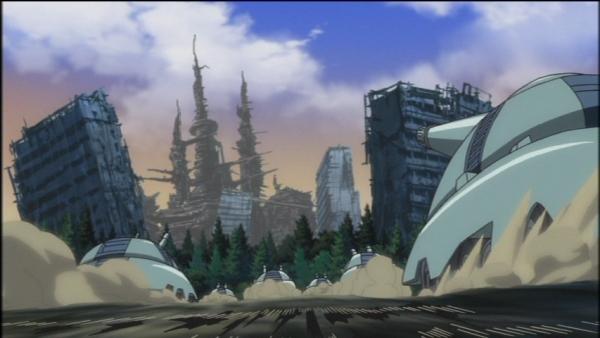 アニメ一期13話カメルレンゴ星人出現の森