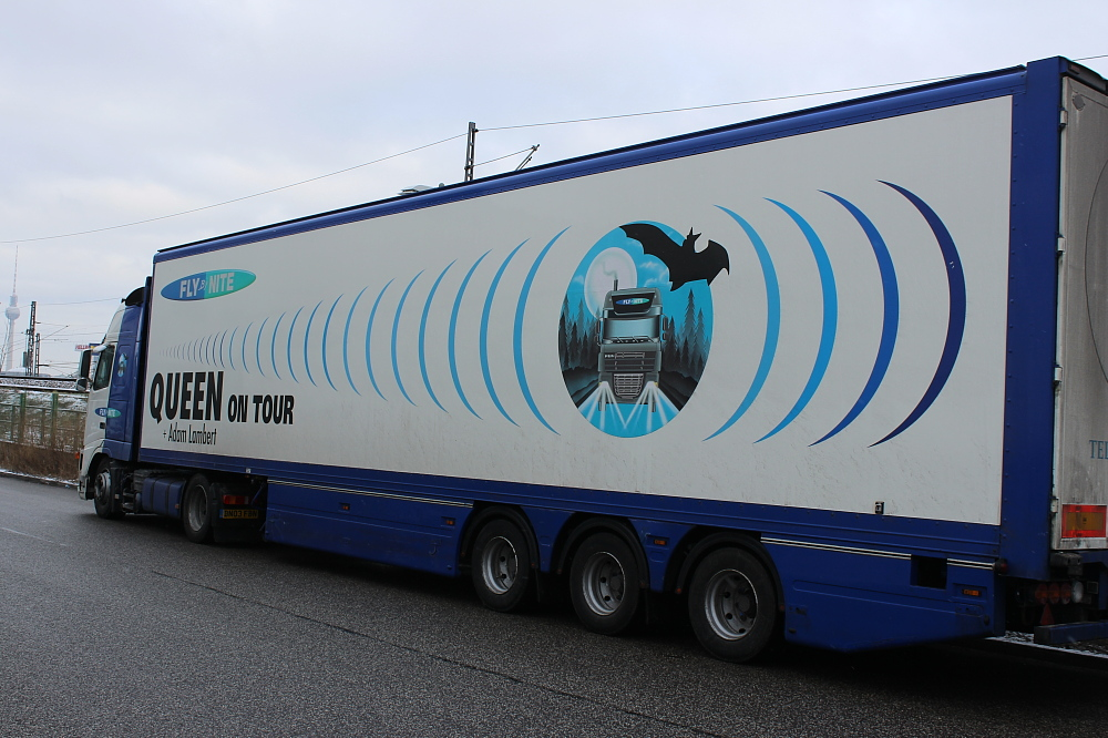 QAL Berlin O2 World Truck