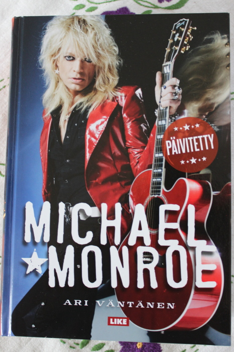 Michael Monroe kirja