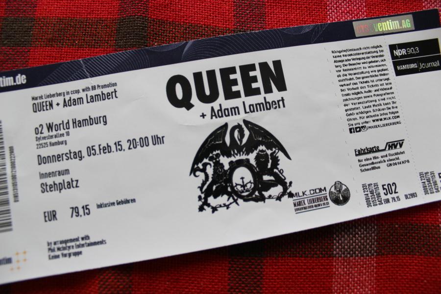 Queen Adam Lambert Hamburg