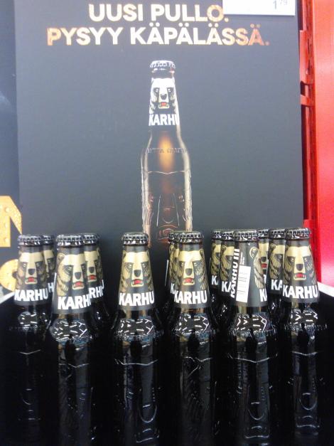 Karhu olutta クマビール