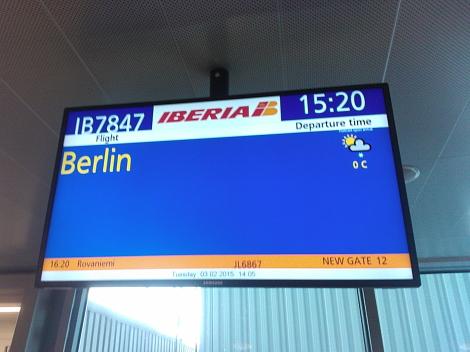 Helsinki Vantaa airport Berlin