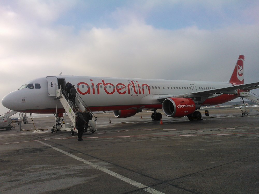 Air Berlin Berlin airport