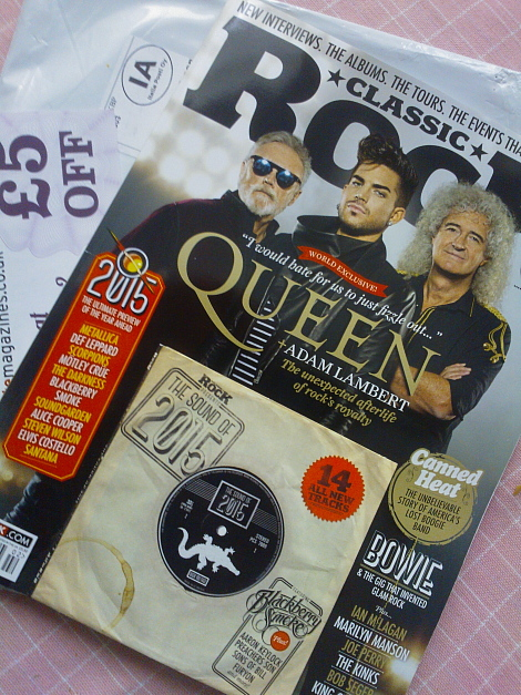 Classic Rock Magazine Queen Adam Lambert QAL